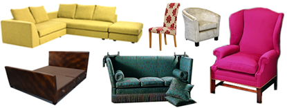 Attleborough Upholstery furniture maker, standard sofa, settee, suite, chair, dining chair, bedstead, bed manufacture. Standard ranges and styles made to order