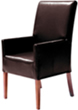 Made to order dining chairs. You chose the fabric or leather